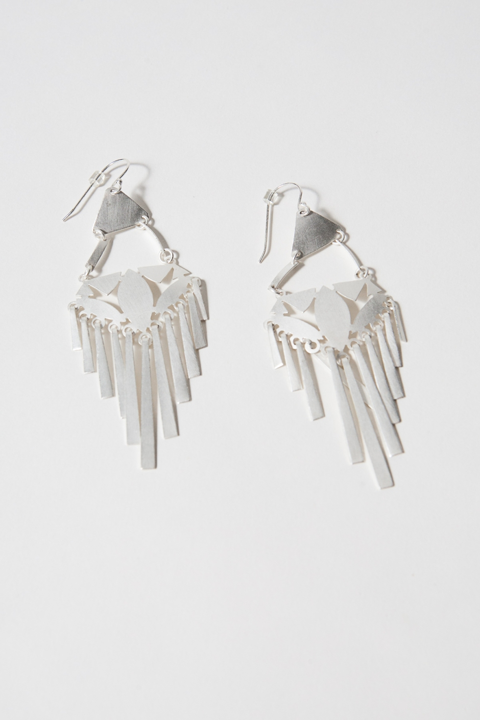 rainforest fringe earrings